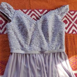 Dresses & Skirts - David's Bridal off the shoulder Bridesmaids dress